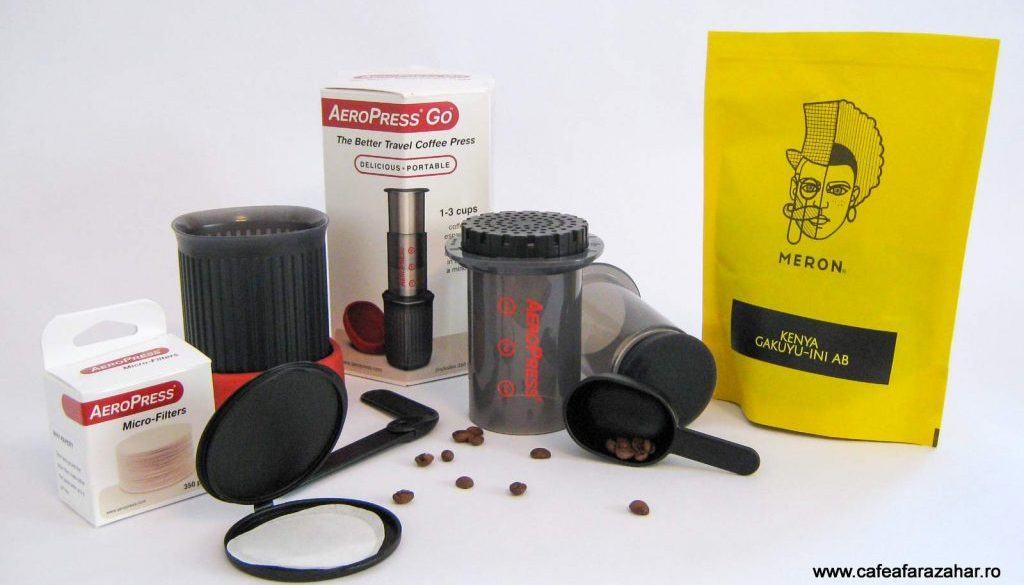 AeroPress GO all